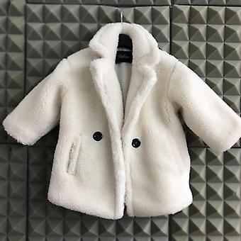 Lapset Tekoturkisturkki, Vauvan turndown-kaulus paksunna lämmin takki