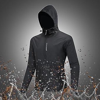 Waterproof Running Jackets, Hooded Caps, Reflective Rain Repellent, Women,