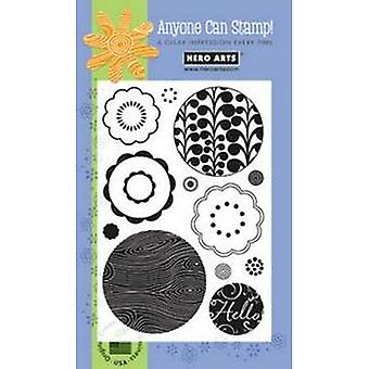 Hero Arts Hellow Circles Clear Stamp