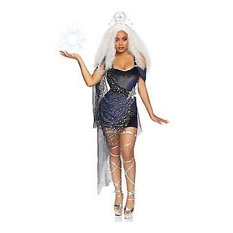 Déguisement luxe reine de la lune femme