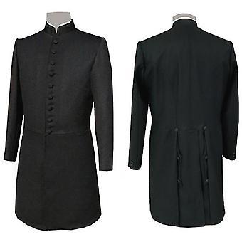 Tempelherreder masonic sir knight frock coat - lång