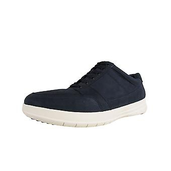 Fitflop Mens Tourno Lace Up Cuir Sneaker Chaussures