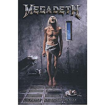 Megadeth Poster Countdown To Extinction new Official 70cm x 106cm Textile Flag