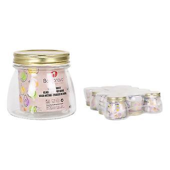 Transparent Glass Jar Borgonovo 50 cl