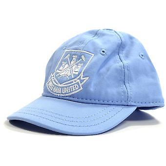 West Ham Classic Crest Peuters Baseball Cap Sky Blue