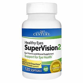 21st Century Zdrowy oczami Nadzoru 2, 120 Softgels