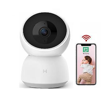 2k Hd Wifi Pan-tilt Night Vision 360 -kulmavideokamera, vauvan turvamonitori