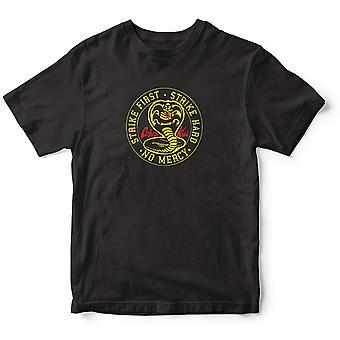 Cobra Kai Unisex Adult No Mercy T-Shirt