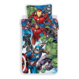 Avengers Tuotemerkit Pussilakana Vuodesarja 140x200 + 70 x 90cm