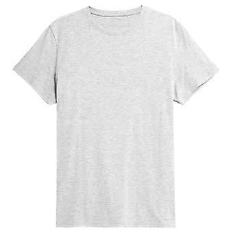 4F TSM352 NOSH4TSM352CHODNYJASNYSZARYMELAN   men t-shirt