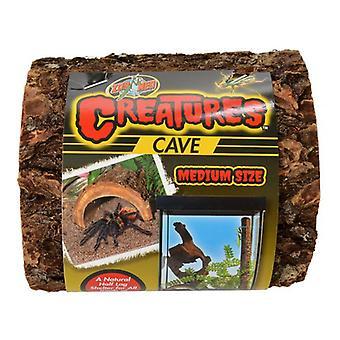 """Zoo Med Creatures Cave - Medium (5""""L x 5""""W x 2.5""""H)"""