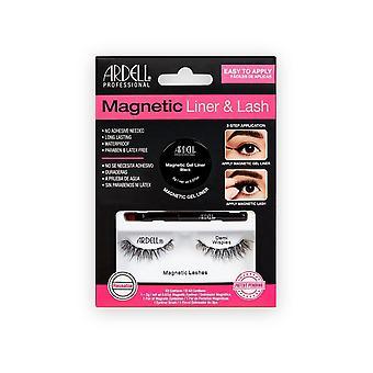 ardell magnetisk gel eyeliner & demis wispies øye vipper kit