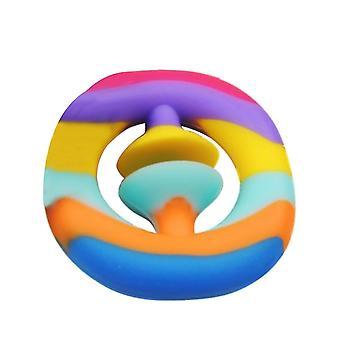 Anti-Stress Finger Hand Griff Training und Stressabbau Fidget Spielzeug (Multicolor)