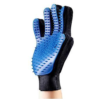 Pet Grooming Gentle Deshedding Brush Glove