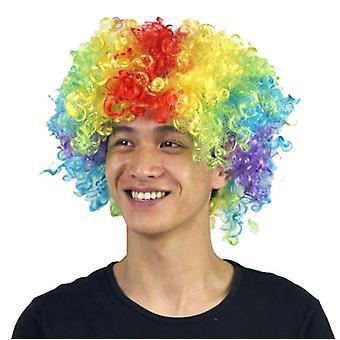 Party Supplies Festive Color Perruque Funny Clown