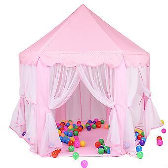 Folding Princess Game Castle Tent Dollhouse