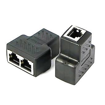 2-wegen Ethernet Lan-netwerkadapterpoorten