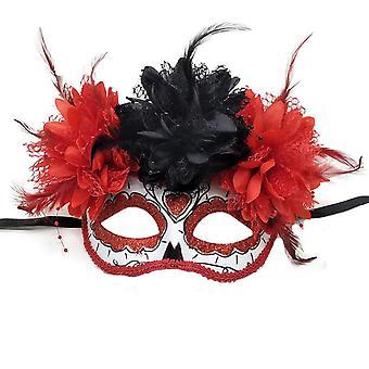 Vrouwen maskerade masker Mexicaanse dag van de dode maskerade
