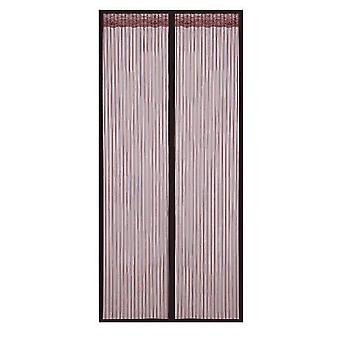 Abnehmbarer selbstklebender Fensterschirm Türvorhang Velcro Magnet (120 * 230cm)