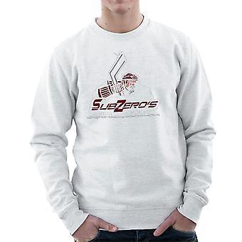 Sub Zero Hockey Academy Running Man Men's Sweatshirt