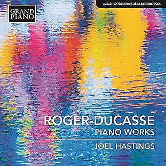 Roger-Ducasse / Hastings - Jean Roger-Ducasse: Piano Music [CD] USA import