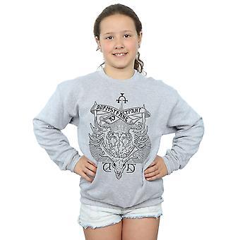 हैरी पॉटर लड़कियों Durmstrang संस्थान शिखा Sweatshirt