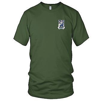 US Army - 119ème Infantry Regiment brodé Patch - Mens T Shirt
