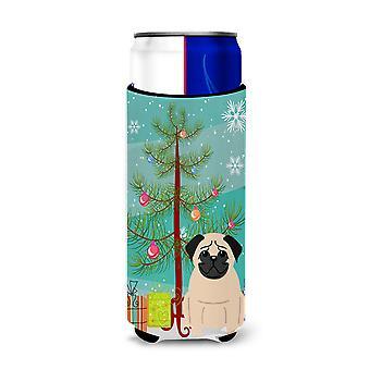Albero di Natale Pug Merry Fawn Michelob Hugger Ultra sottile lattine
