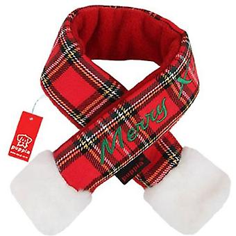 Puppia Santa's Scarf Red Scarf S (Dogs , Dog Clothes , Fashion Accessories)