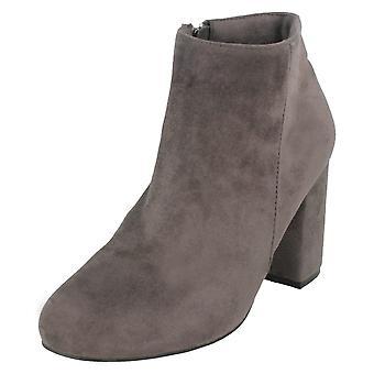 Mancha de senhoras no calcanhar bloqueada tornozelo botas F50853