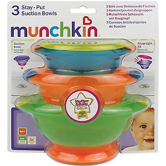 Munchkin Baby Stay Put Suction Bowls