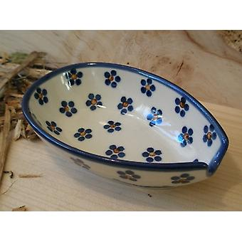 Spoon, 12.5 x 8.5 cm, tradition 3, Upper Lusatia ceramic - BSN 4869