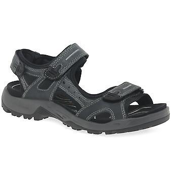 Ecco Yucatan Mens Rip Tape Fastening Sandals