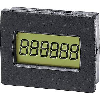 Trumeter 7016LCD counter Assembly dimensions 29.4 x 22 mm