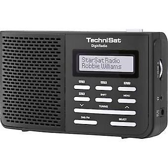 TechniSat DigitRadio 210 DAB + Portable radio DAB +, FM negro