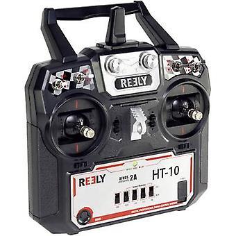 Reely HT-10 håndholdte RC 2,4 GHz nr. kanaler: 10 inkl mottaker