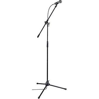 Paccs Megastar Microphone set Transfer type:Corded incl. cable, incl. clip, incl. stand
