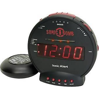 Geemarc SBB500SS-IG Quartz Alarm clock Black