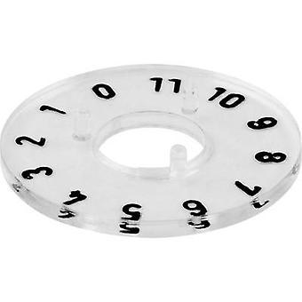 Mentor 332.204 Zifferblatt 0-11 360 ° Geeignet für 20 mm Knöpfe 1 Stk.