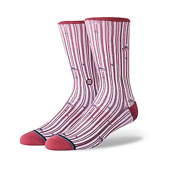 Stance Reims Crew Socks in Red