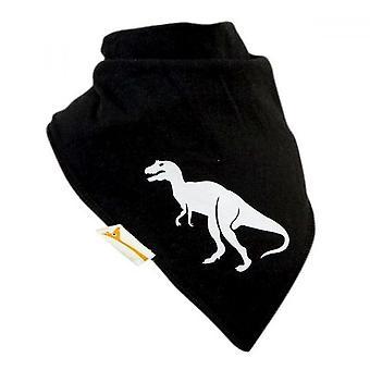 Schwarzen & weißen Dinosaurier Xxl Bandana Lätzchen