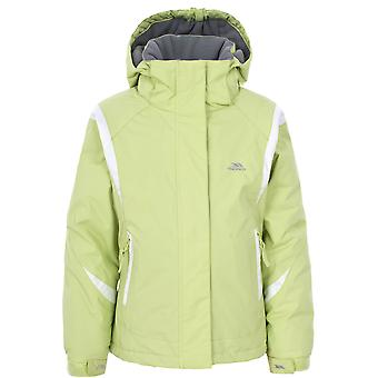 Trespass Childrens Girls Vanetta Zip Up Waterproof Ski Jacket