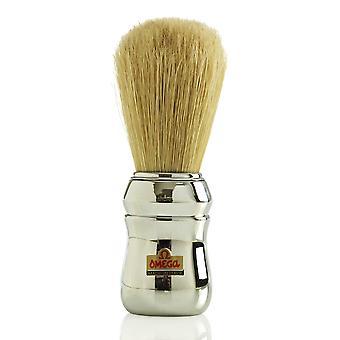 Omega 10048 zwijnen Bristle Shaving Brush