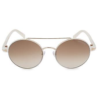 Tom Ford Round Sunglasses FT0486-D 33F 55