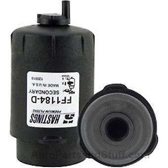Hastings Filters FF1184-D Secondary Fuel and Water Separator Filter Element with Drain