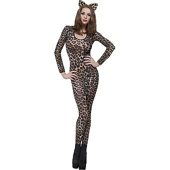 Smiffy's Cheetah tulosta ruskea Body