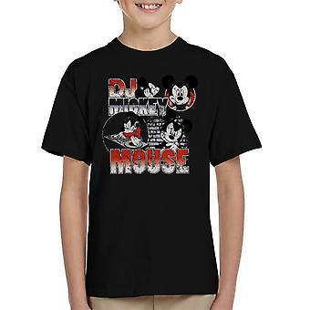 Disney DJ Mickey Mouse Kid's T-Shirt