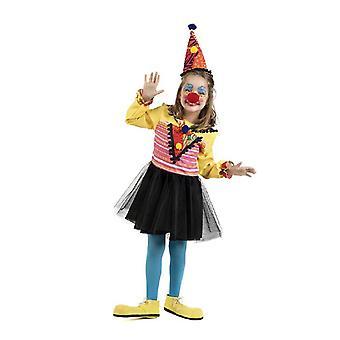 Clown kap meisje kostuum clown jester kind kostuum