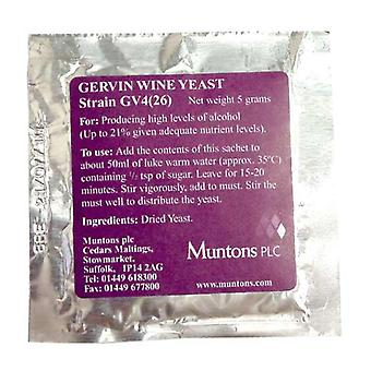 Gervin No 4 - High Alcohol Yeast