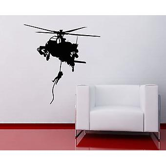 Army Helicopter V2 Wall Sticker